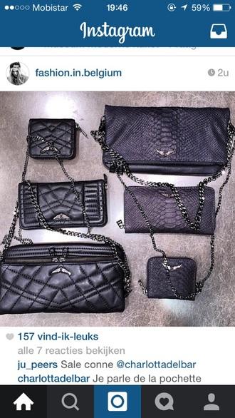 bag back snake clutch