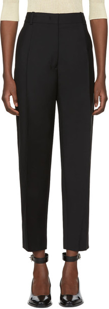 Jil Sander black pants