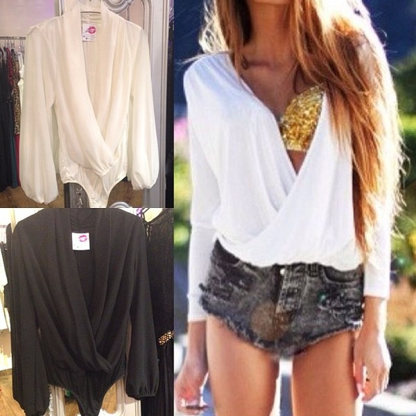 blouse bodysuit