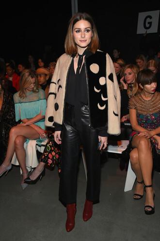 jacket pants olivia palermo blogger ny fashion week 2018 fashion week