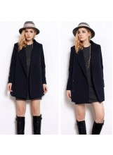 Military Wool Midi Coat - New Arrivals