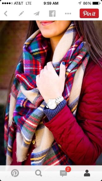 scarf plaid