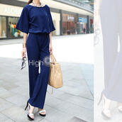 jumpsuit,brand new,2015 fashion trends,top jumpsuits,women's,girl,summer dress,comfy,blue,cool and fashion,best gifts