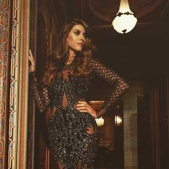 dress maxi dress sequin dress shiva safai celebrity lace dress see through dress hairstyles