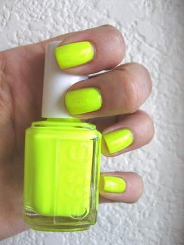 nail polish neon