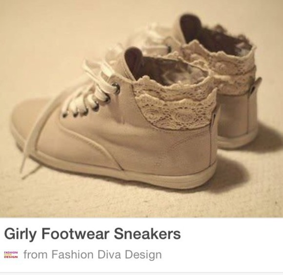 shoes beige shoes sneakers lace