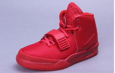 Westphal 13 red hip hop shoes air yeezy 2 luminous basketball shoes air cushion shoes trend-inWomen's Shoes from Shoes on Aliexpress.com