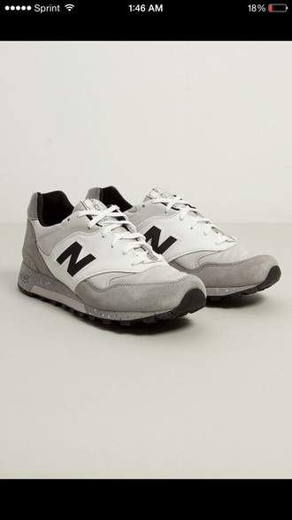 shoes white new balance black style leather