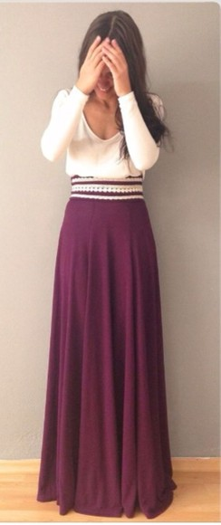 maxi dress maxi skirt maroon maxi skirt martin dark red shirt