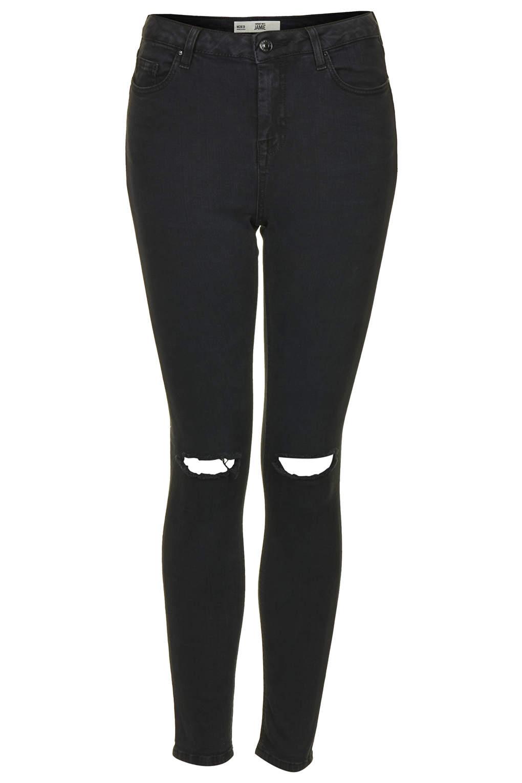 MOTO Dark Wash Ripped Jamie Jeans - Jamie Skinny Jeans - Jeans - Clothing - Dark Wash Ripped Jamie Jeans - Jamie Skinny Jeans - Jeans - Clothing