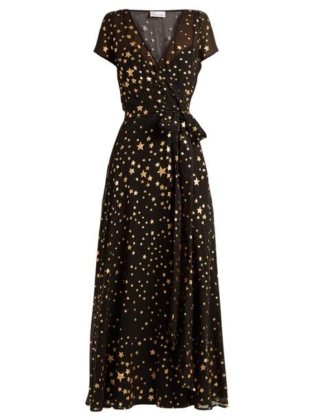 REDValentino dress maxi dress maxi print black