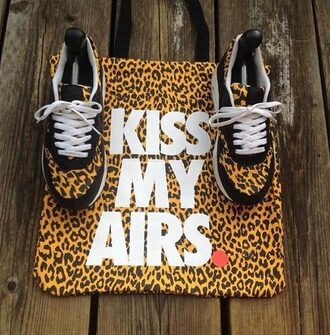 shoes nike shoes bag nike leopard print animal print bag air max nike air nike sneakers nike leopard shoes hipster swag dope supreme