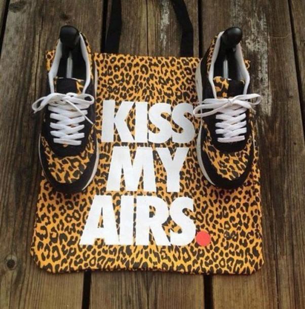Swag Shirts Nike Nike Leopard Print Shirt