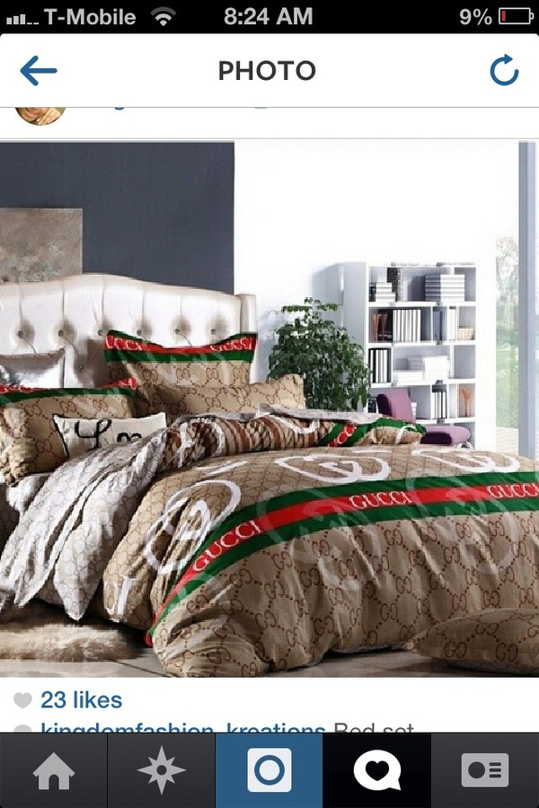 Bag Gucci Comforter Bedding Gucci Wheretoget