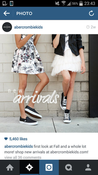 shoes vans sneakers abercrombie & fitch kids shoes flats floral dress