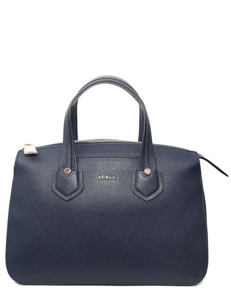 Furla satchel blue bag