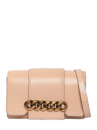 infinity bag shoulder bag leather light pink light pink