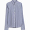 Rosie assoulin women`s crater button down shirt