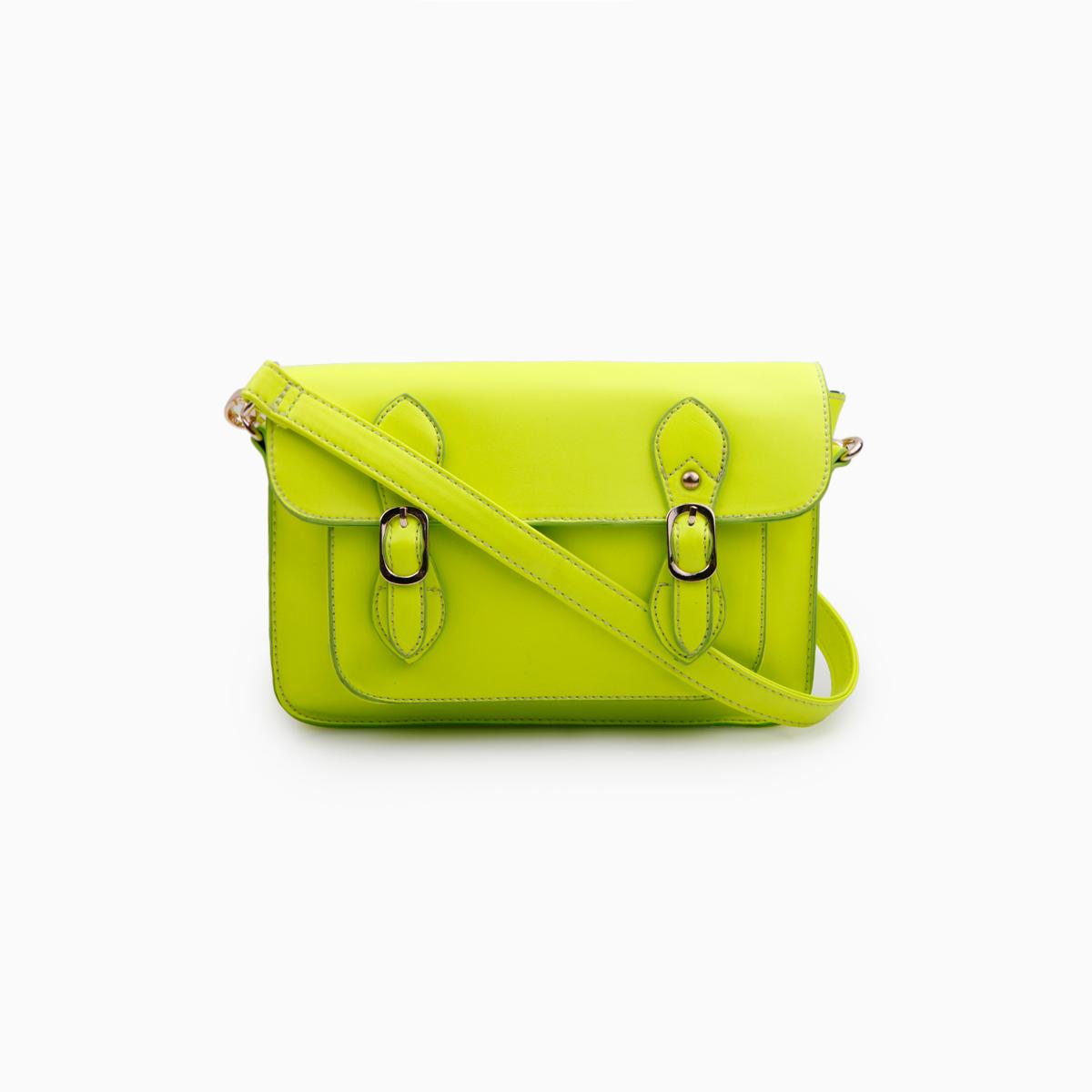 Dailylook: neon crossbody bag by street level