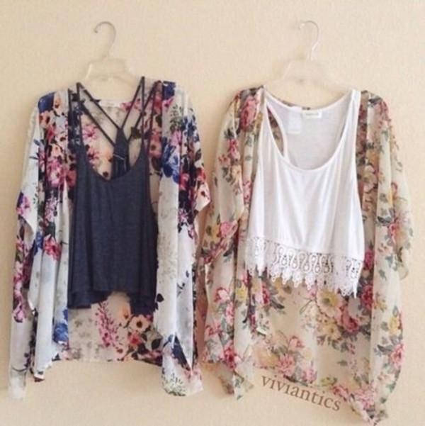 shirt kimono cardigan
