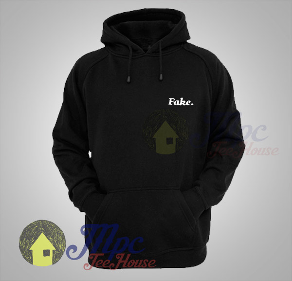 Skyline Jenner Fake Black Hoodie - Mpcteehouse