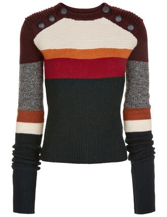 jumper green sweater