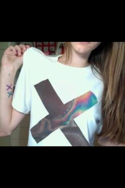 t-shirt the xx grunge t-shirt