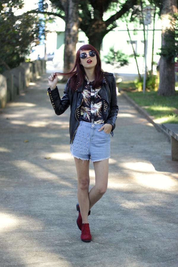 my name is glenn shirt jacket shorts shoes sunglasses