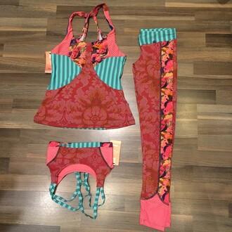 tank top maaji activewear top beach yoga yoga pants workout