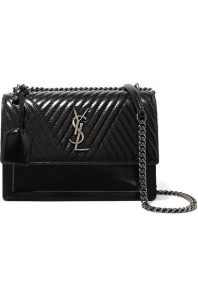 Saint Laurent bag shoulder bag leather black