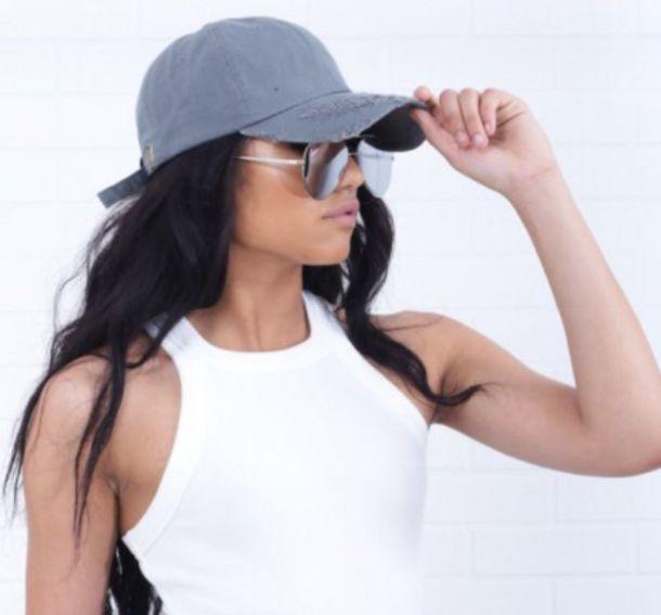 hat navy light blue sexy baseball baseball cap casual makeup palette summer  summer dress summer outfits f18d6c6ea5a