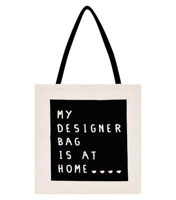 Canvas My Designer Shopper Bag