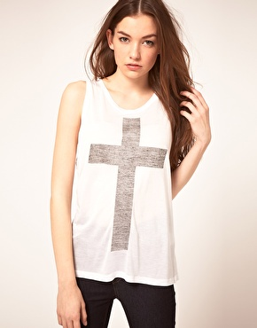 Just female 'cross' t