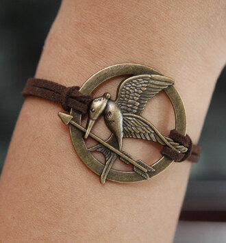 jewels the hunger games jewelry bronze