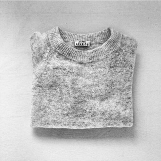 sweater gris pullover