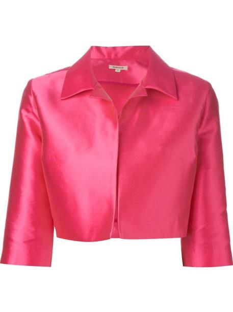 jacket purple pink