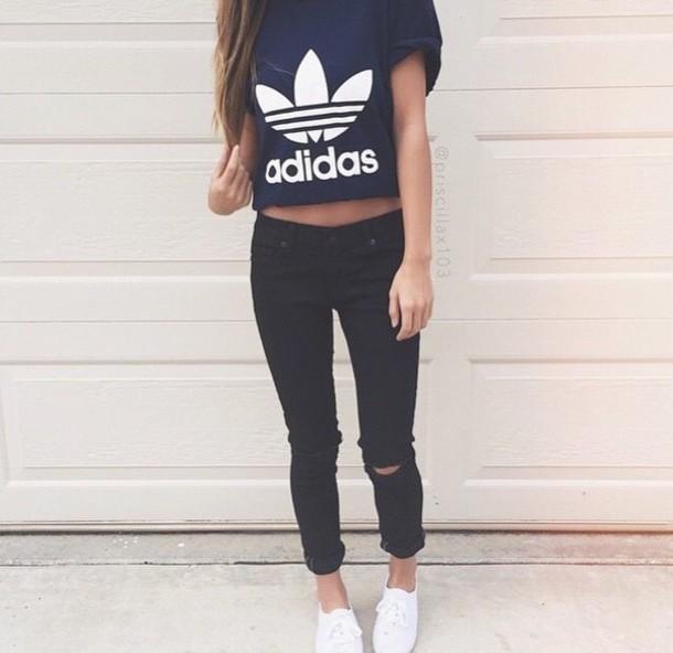 8c53d47e48a5a t-shirt adidas shirt black t-shirt shirt adidas wings shoes style high  heels.