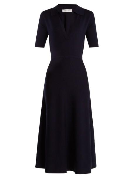 Gabriela Hearst dress wool navy