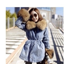 coat denim jacket