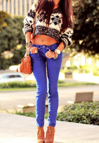 pattern sweater fall sweater fall outfits cute classy winter sweater winter outfits crop tops cropped sweater sexy girly classic christmas sweater christmas adorable girl