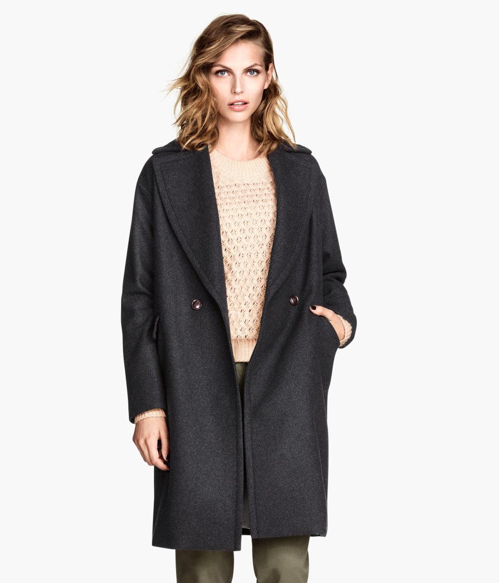 Wool-blend Coat $29.95