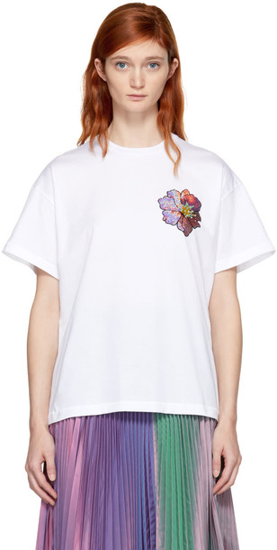 CHRISTOPHER KANE shirt boyfriend white top