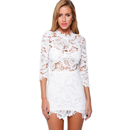 White Lydia Dress – Dream Closet Couture