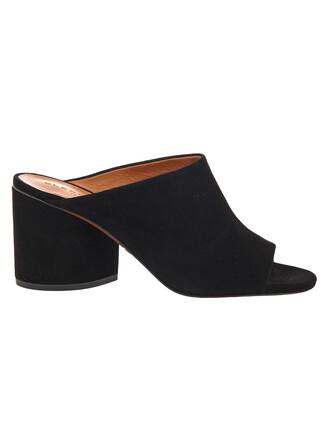 classic mules black shoes
