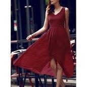 dress,rose wholesale,burgundy,summer dress,sleeveless dress,fashion,style,trendy,flowy,summer,spring,romantic summer dress