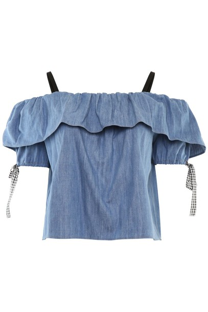 Miu Miu top denim top denim