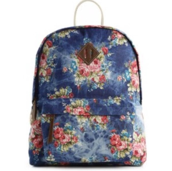 bag backpack denim