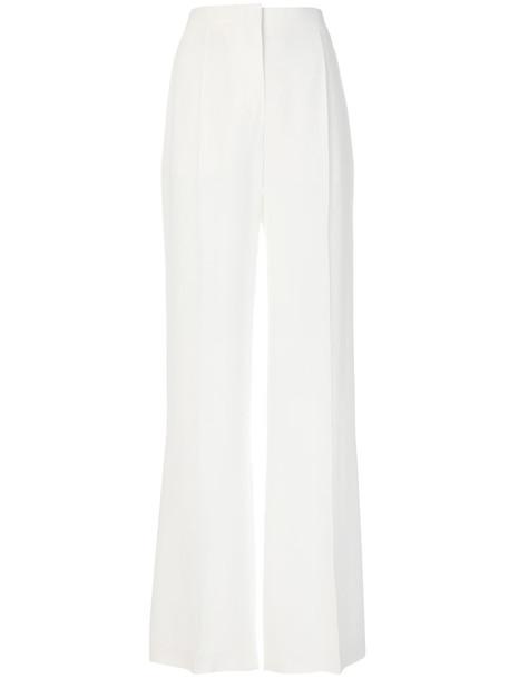 Alberta Ferretti high women white pants