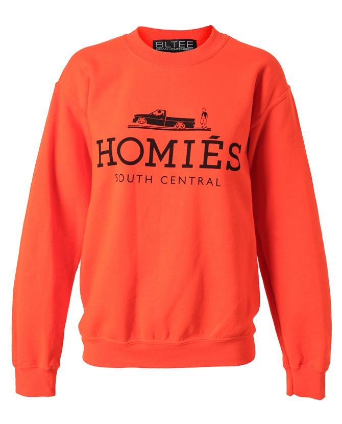 BRIAN LICHTENBERG | Unisex 'Homies' Cotton Sweatshirt | Browns fashion & designer clothes & clothing