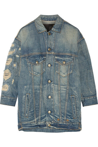 jacket denim jacket denim oversized